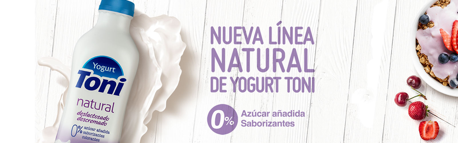 Yogurt Toni Natural